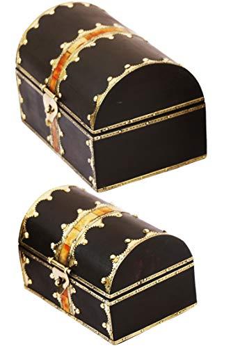 2er SET Orientalische kleine Aufbewahrungsbox mit Deckel Bibni 20cm groß | Orientalischer...
