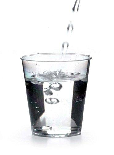 r 4 cl Schnapsglas Schnapsbecher Einweg Plastik Becher Eichstrich 2cl und 4cl ()
