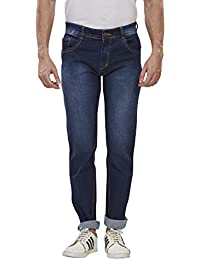 Denim Vistara Men's Dark Blue Comfort Fit Jeans