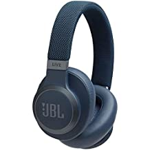 JBL LIVE 650BTNC Cuffie Circumaurali Bluetooth, Cuffie Over-Ear Wireless con Microfono, Assistente Google e Amazon Alexa, JBL Signature Sound, fino a 30h di Autonomia, Blu