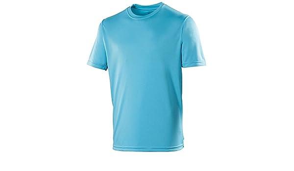 3cdcf51ab4d1 AWD Just Cool Atmungsaktiv Cool T-Shirt Hawaiian Blau 2XL  Amazon.de   Bekleidung