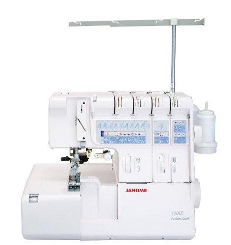 Janome 7974001025689-1200d máquina Profesional overlock.