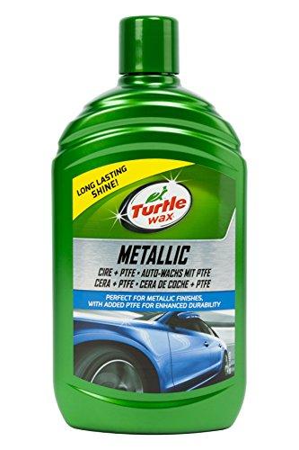 Turtle Wax TW52870 Cera con Teflón para Pintura Metalizada, 500 ml