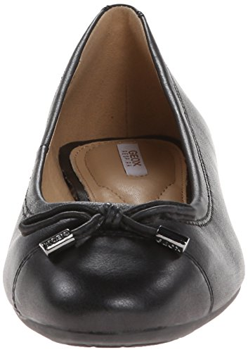 Geox Damen D Lola A Geschlossene Ballerinas Schwarz (Blackc9999)