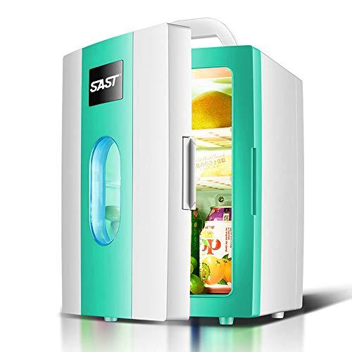 LAIY Minikühlschrank, Kühlschranktüren, Kleiner Kühlschrank mit elektrischer Kühlung und Erwärmung, tragbarer Griffkühlschrank für Auto- / Autoreisen- / Schlafzimmer- / Bürogebrauch