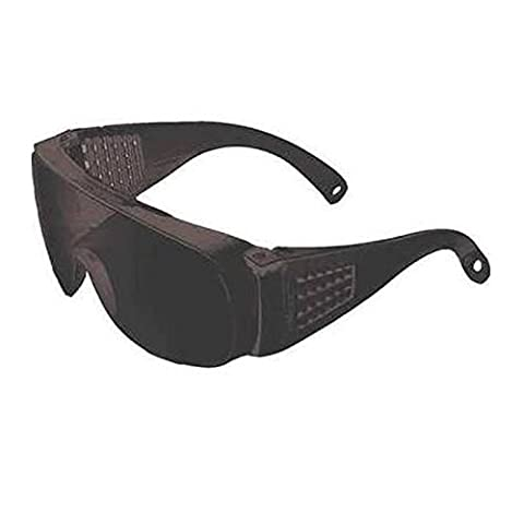 Jackson Safety Unispec II V10 Shade 5.0 Polycarbonate Standard Welding Glasses - 99.9 % UV Protection - Wrap Around Frame - 29059 [PRICE is per EACH] by Jackson Safety