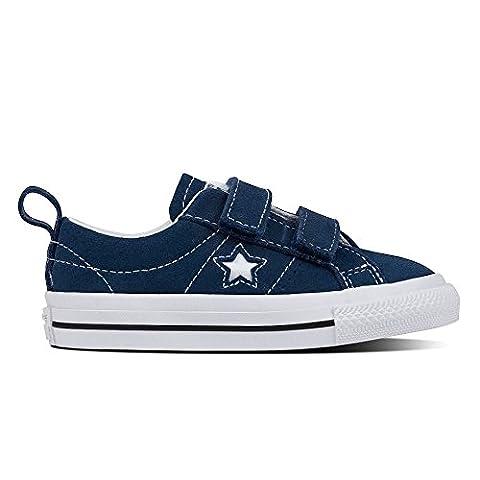 Converse , Baskets mode pour garçon bleu bleu marine -