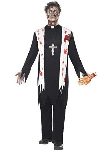 pretre zombie Kostüm Gr. m ()