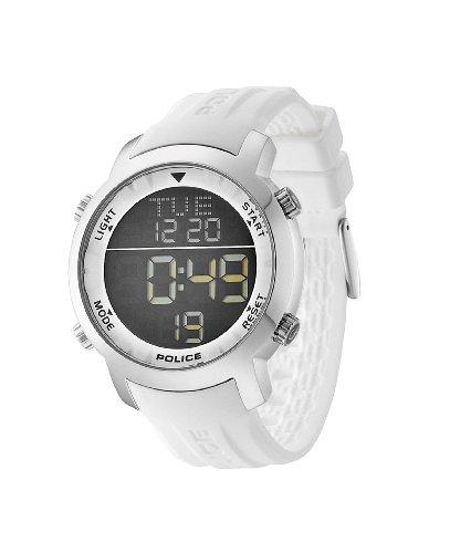 Police Herren-Armbanduhr XL CYBER Digital Kautschuk P12898JS-02H