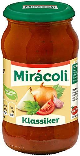 Miracoli Pasta Sauce Klassiker, 6 Gläser (6 x 400g)
