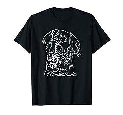 Kleiner Münsterländer Hund Hunde Portrait Jagdhund Jagdhunde T-Shirt