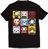 Official Juego de Tronos - Personaje Pop Art - Camiseta Oficial Hombre...