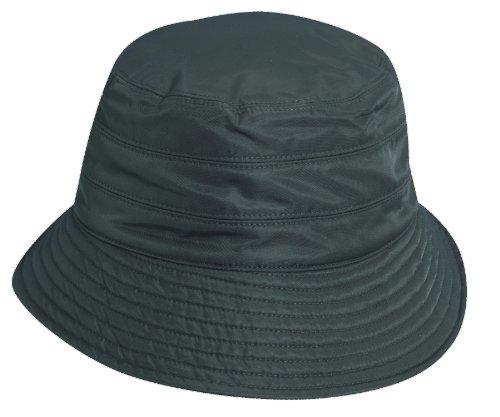 scala-classico-womens-nylon-water-repellent-3-inch-brim-lined-rain-hat-charcoal