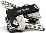 Schlüssel Organizer von Simploducts / Key Organizer für Herren / smartes Schlüsselmäppchen auch für Autoschlüssel / Schlüsselbeutel / Schlüsseletui / Schlüsseltasche / Schlüsselbund inkl. Zubehör / Simplonizer