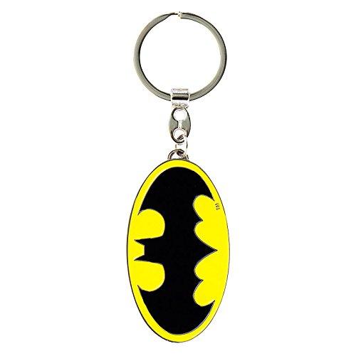Schlüsselanhänger Batman Logo - Schlüsselanhänger DC Comics - Superheld - Key-Ring - farbig - Lizenziertes Originaldesign - Logoshirt