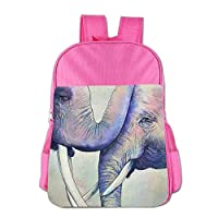 Elephant Love Children School Backpack Carry Bag for Kids Boys Girl