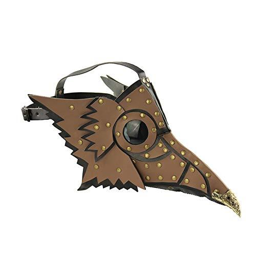 SIWEN Halloween Dekoration Punk Pest Vogel Maske Kostüm -