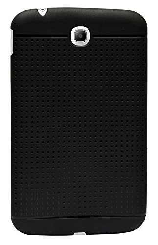 WTF Dotted Matte Finish Soft Back Case Cover Back Cover For Samsung Galaxy Tab 3 SM-T211  available at amazon for Rs.245