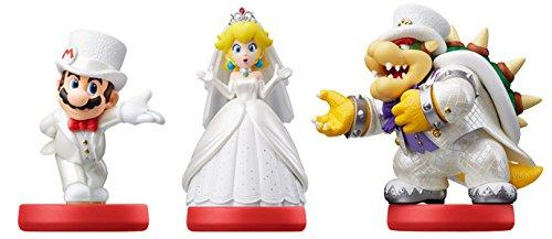 Nintendo   Amiibo Mario  Peach  Bowser (Pack De 3)
