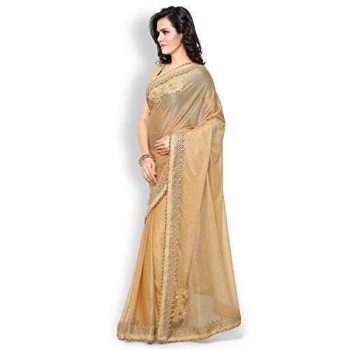 Buy shree mira impex women 39 s lycra beatuiful classic for Sari furniture designer