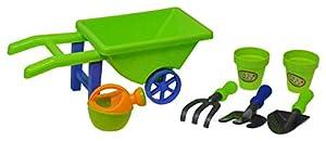 Hoopla Toys HT-10005 - Carrito de jardín con Herramientas