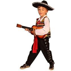 Dress up America Disfraz de Mariachi Mexicano para niños