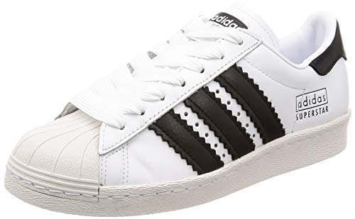sneakers for cheap e47e9 64084 adidas Superstar 80s, Scarpe da Ginnastica Uomo, Bianco (Ftwr Core  Black Crystal