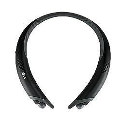 LG Tone Active+ HBS-A100 Bluetooth Stereo Headphones (Black/Gray)