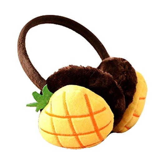 Mignon Oreille fruits Supersoft Manchons Cache-oreilles hiver, ananas