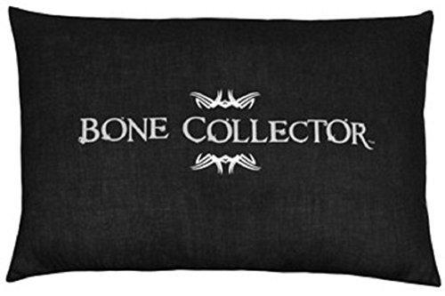 Bone Collector schwarz & grau mit einer länglichen Kissen–wendbar (Bone Collector Kissenbezüge)