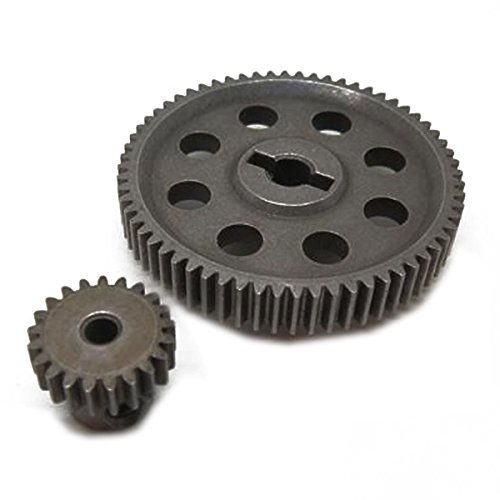 winomo HSP 1118411181Differential Metall Main Gear 64T Motor Gear 21Z 9411194171/10RC Cars Differential