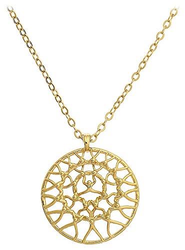 Jourdan - GD306 : Collier Femme Métal doré - Fabriqué en France
