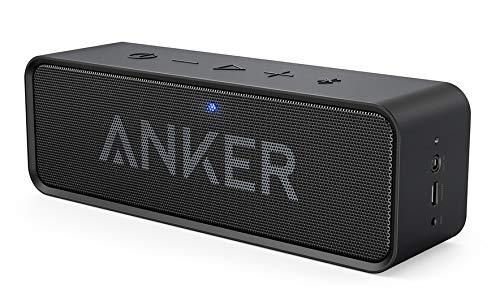Anker SoundCore Stereo portable speaker 6W Black - Portable Speakers (6 W, Wireless, Stereo portable speaker, Black, Digital, Universal)