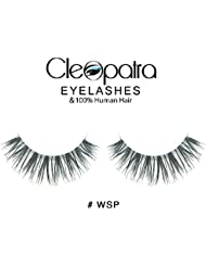 Cleopatra™ High Quality 100% Natural Human Hair Black False Fake Eyelashes Eye Fashion Makeup Lashes Many Styles NOT Red Cherry Ardell (WSP)