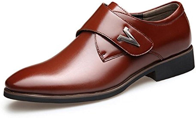 Zapatos de Cuero para Hombres 2018 Primavera/Otoño/Invierno Nuevos Zapatos de Vestir para Hombres Office & Career  -