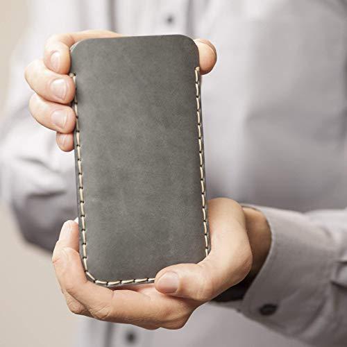 Grigio caso in pelle custodia per Samsung Galaxy Note 10+ cover case