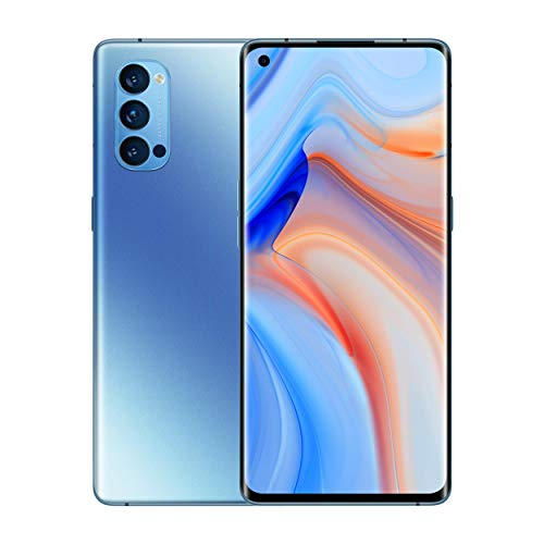 """Oferta de Oppo Reno 4 Pro 5G – Pantalla de 6.5"""" (180 Hz de pantalla, 12/256Gb, Snapdragon 765G 5G, 4000mAh con carga 65W, Android 10) Azul [Versión ES/PT]"""