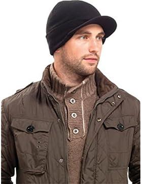 Cappello Invernale da uomo con visiera militare, fantasia cadetto US Army