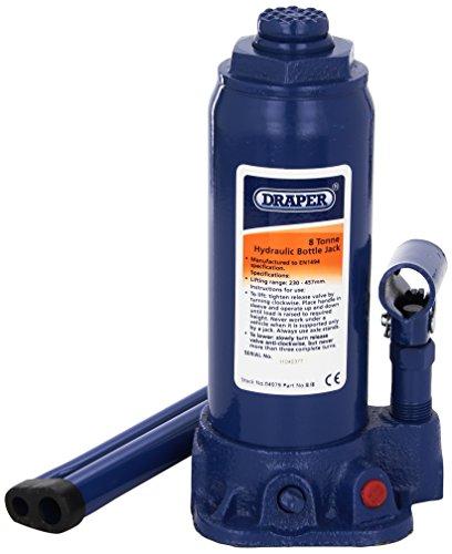 Draper 04979 8 Tonne Bottle Jack Test