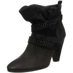 Ecco Shape 75, Botines para Mujer, Negro (Black/BLACK53960), 40 EU