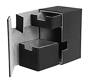 Ultimate Guard FlipŽnŽTray Deck Case 100+ Caja de Cartas Tamaño Estándar XenoSkin Negro