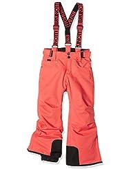 Brunotti niña lawna Jr Girls Snowpants–Pantalones, niña, Lawna JR Girls Snowpants, Fushion