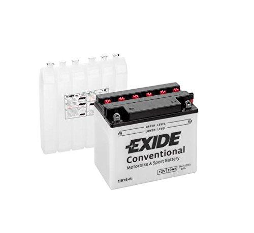 Exide EB16-B Motorrad Batterie 12V 19Ah 190A