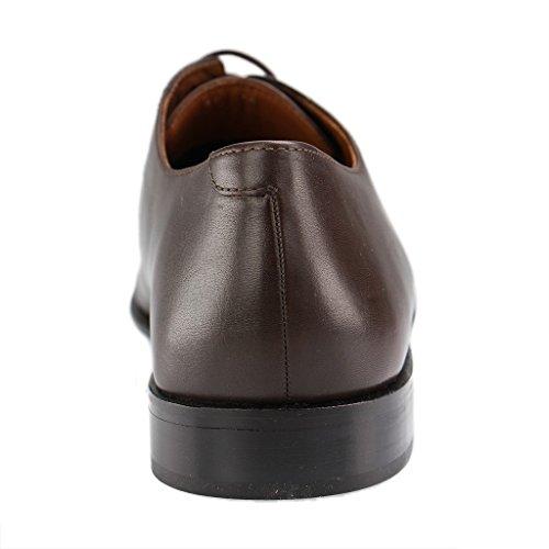 MANZ - Herren Business Schuhe - Braun Schuhe in Übergrößen Braun