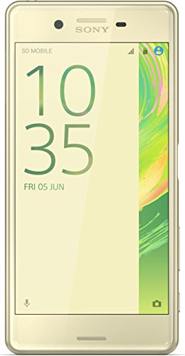"Sony Xperia X - Smartphone libre Android (5"", 23 MP, 3 GB RAM, 32 GB), color verde oro"