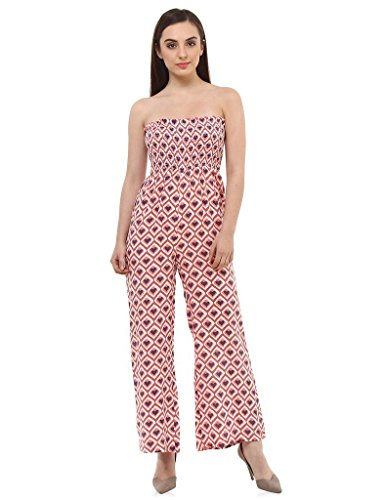 Oxolloxo Women Printed Jumpsuit  available at amazon for Rs.389