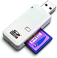 LUPO Kartenlesegerät für SDHC-/SD-Speicherkarten, für WindowsME/2000/XP/Vista/7 sowie Mac OS 9.0 oder höher
