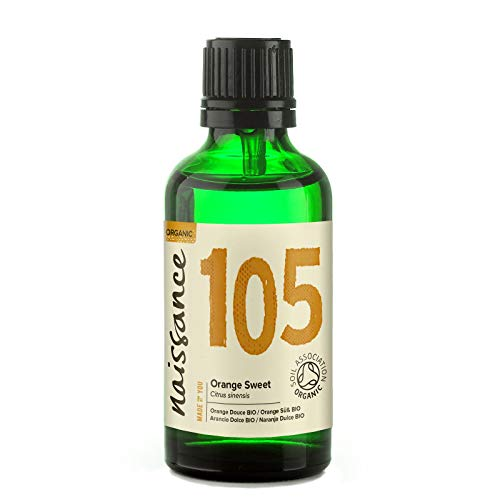 Naissance Olio di Arancio Dolce Biologico - Olio Essenziale Puro al 100% - 50ml