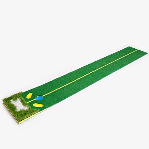 Mitrc Golf Putting Green Golf Interior Putting práctica Manta Artificial...