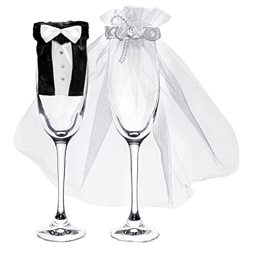 tux-wedding-dress-champagne-glass-covers-xp035